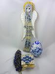 Niebieski zestaw od Gosi
