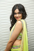 Adah sharma glam pics in saree-thumbnail-19
