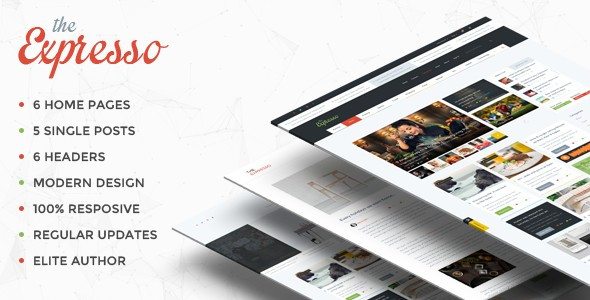 Expresso - A Modern Magazine and Blog WordPress Theme