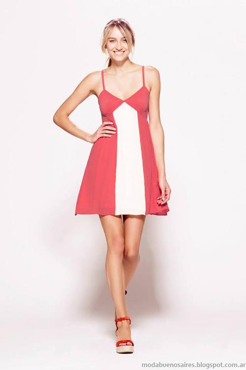 Moda vestidos primavera verano 2014.