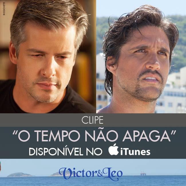 """Clipe: """"O Tempo Não Apaga"""" no iTunes"""