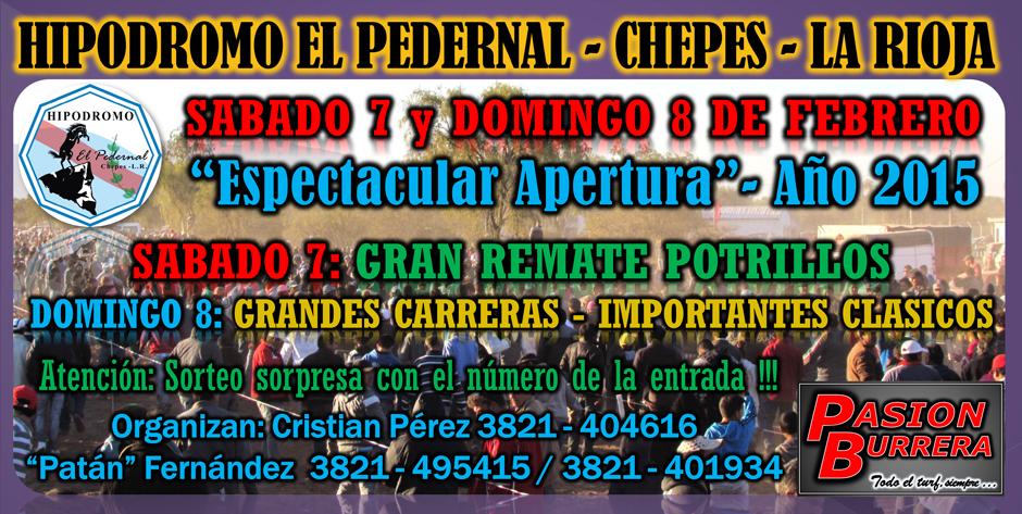 CHEPES -  7 Y 8 DE FEBRERO