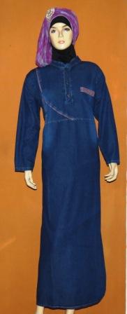 Gamis Muslim Bandung Gj1026 Grosir Baju Muslim Murah