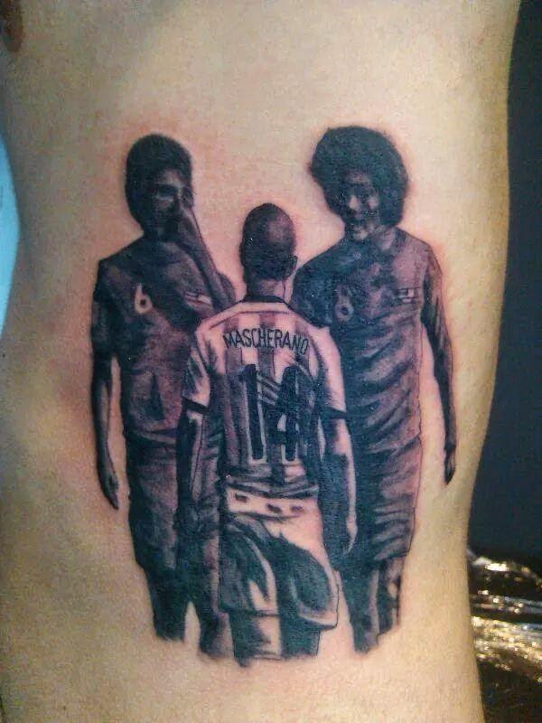 Tatuaje de Mascherano