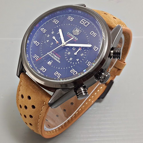 Tag Heuer Flyback coklat