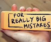 Todo el mundo llega a comter errores.