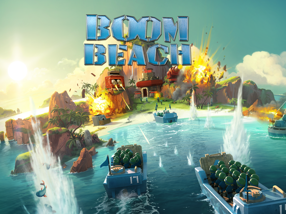 Free Download Game Boom Beach .APK Full Data