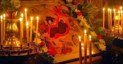 Χριστούγεννα 2014 στην Ιερά Μονή Παναγίας Χρυσοπηγής