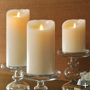 Luminara Flameless Candles | Christmas Lights Shop Blog