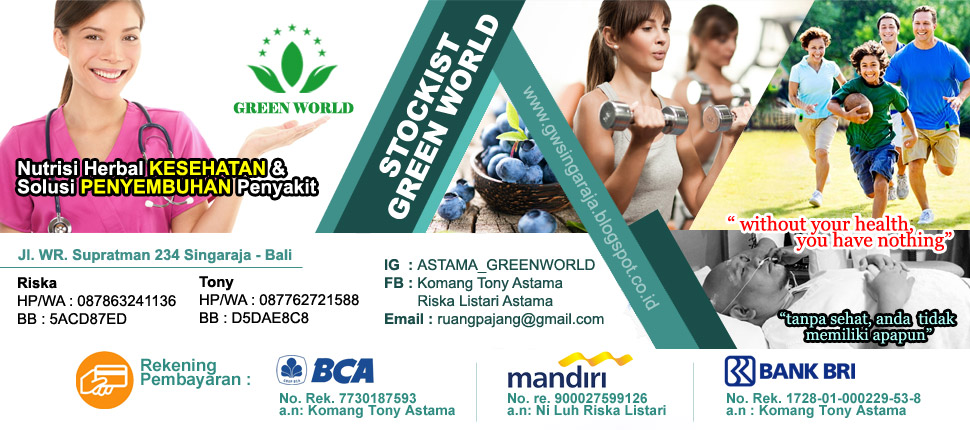 Produk Herbal Green World