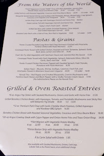 Beau's Grille Menu Page 2