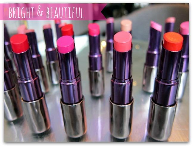 Urban Decay Revolution Lipstick Range
