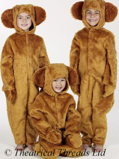 Teddy Bear Kids Costume from Theatrical Threads Ltd