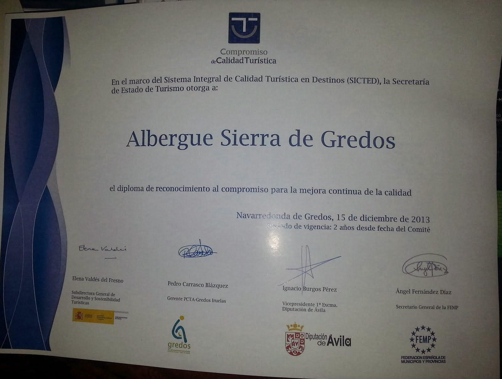 Albergue Sierra de Gredos