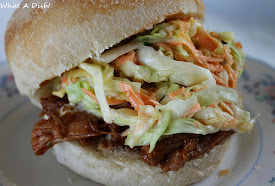 Recently- Pulled Pork & Coleslaw
