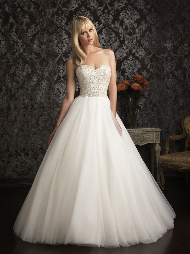 Allure bridals spring 2013 my dress of the week belle for Belle style wedding dress