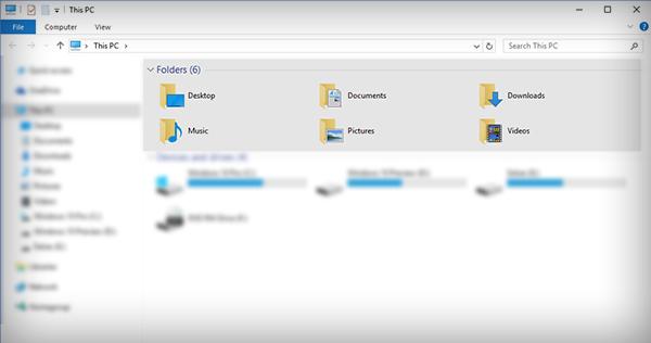 """شرح حذف قسم Folders من نافذة """"This PC"""" علي نظام ويندوز 10 %D8%AD%D8%B0"""