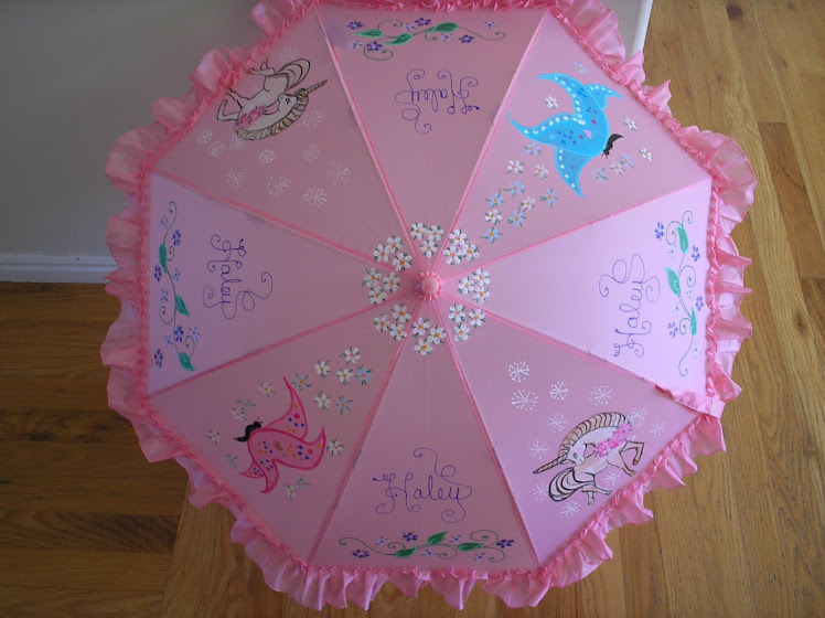 Pink Haley parasol