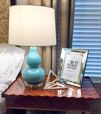 linen or dye: Home Improvement: Guest Bedroom Update Part 5