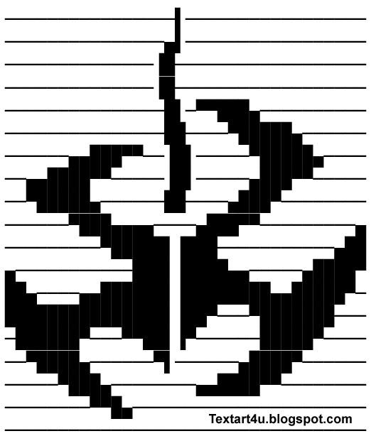 Hitman Game Symbol | Logo Copy Paste Text Art | Cool ASCII Text ...