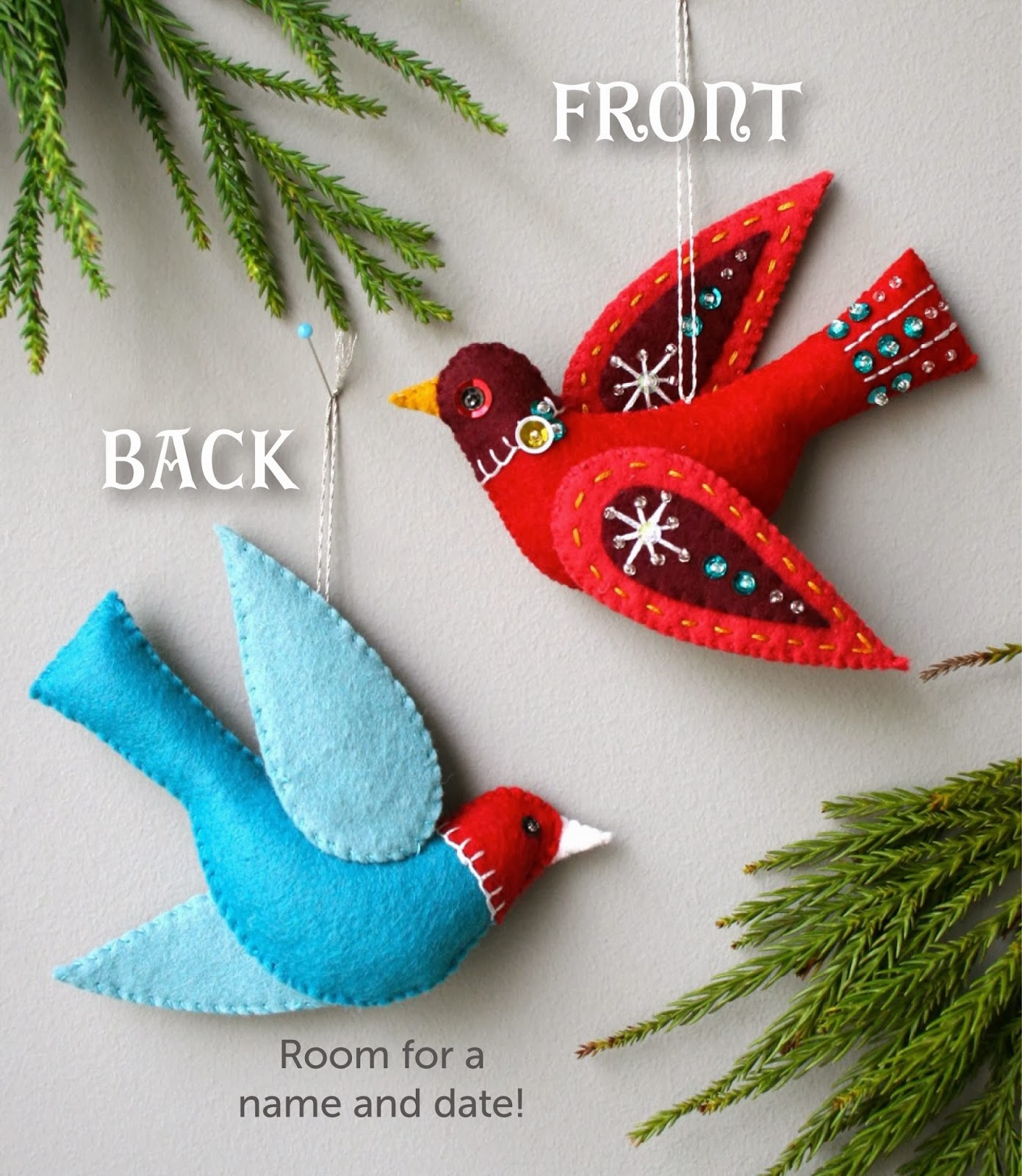 Mmmcrafts: Snow Bird Ornament Pattern Available