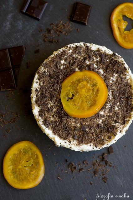 Tiramisu z pomarańczą