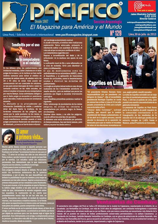 Revista Pacífico Nº 129 Arqueología