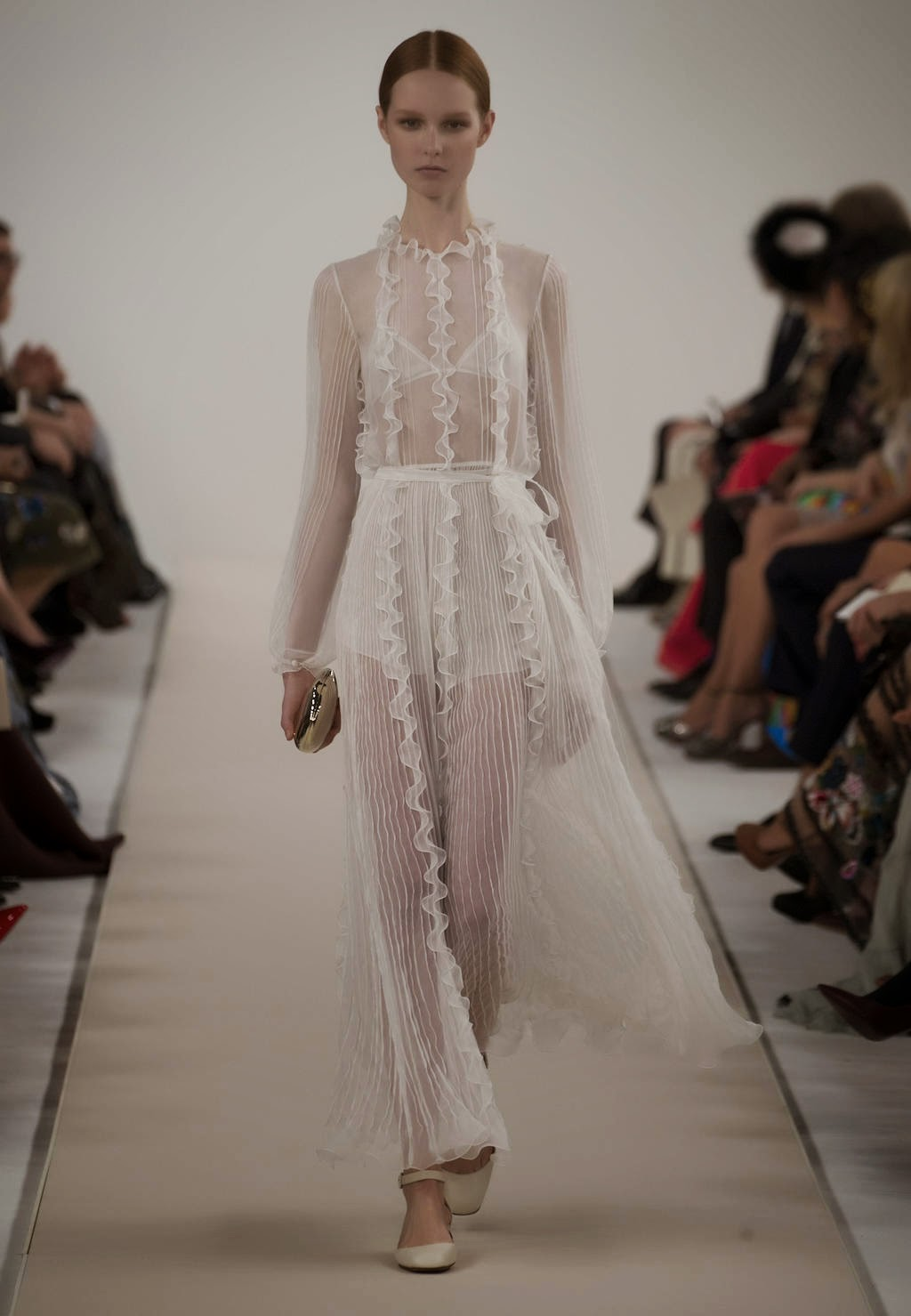 Lace Drees - The Runway at Valentino's New York Couture Show