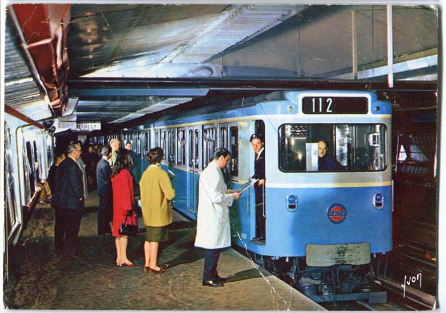 Architectures de cartes postales 1 la porte d 39 italie - Porte d italie metro ...