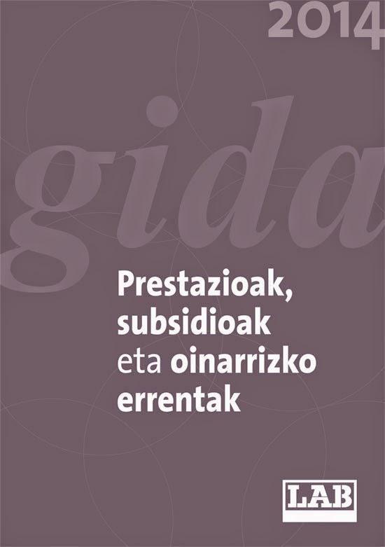 Guía de prestaciones, subsidios y rentas basicas