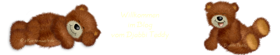 Djabbi Teddy Blog der eKartenwelt