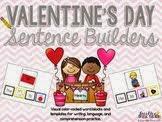 February Sentence Builders