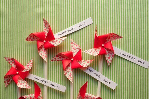 すべての折り紙 折り紙 席札 : Recorte um quadrinho no tamanho que deseja ...