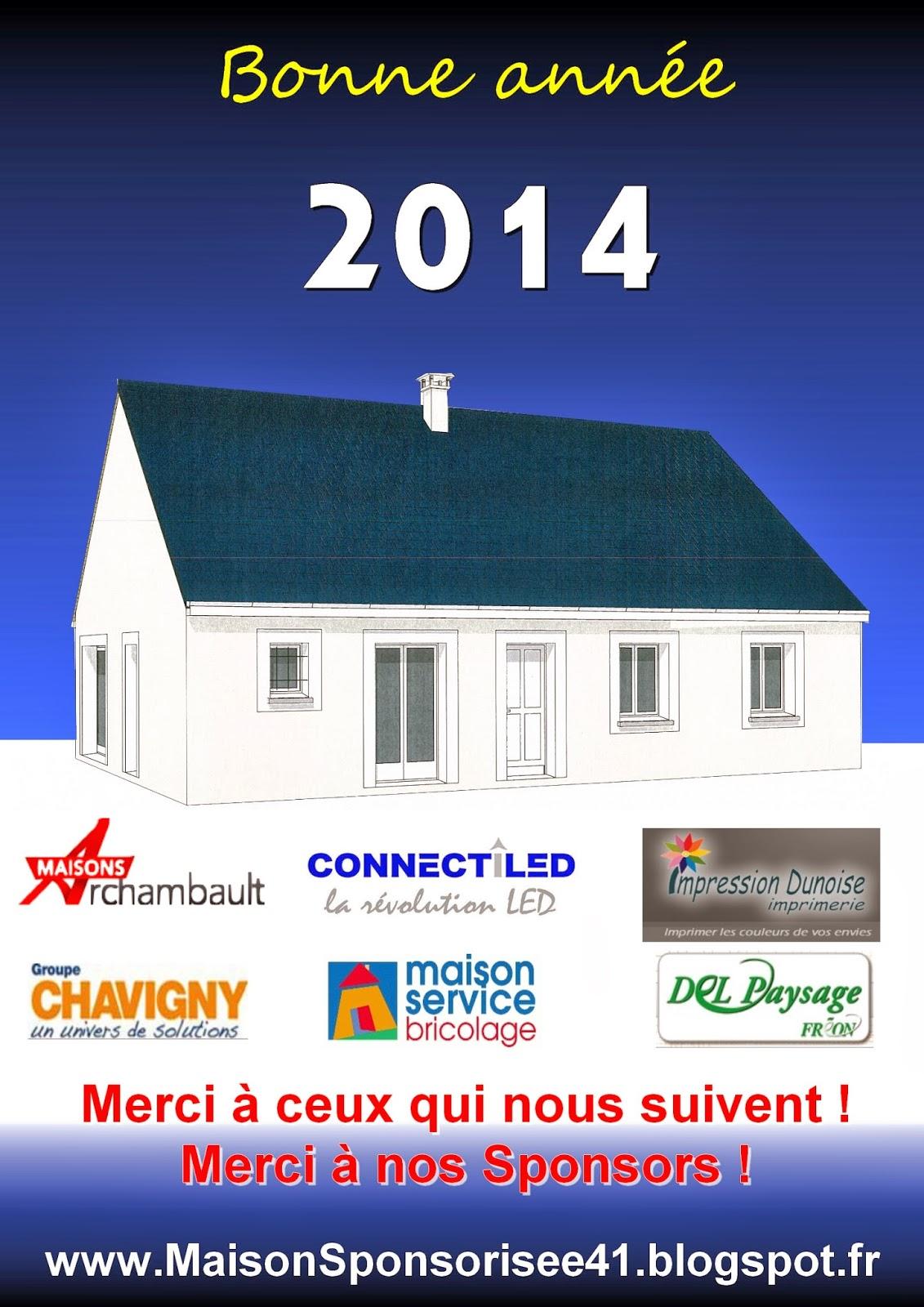 Maison sponsoris e 41 label rt 2012 oucques 41290 for Constructeur maison individuelle 41100