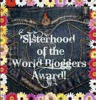 Sisterhood of the World Bloggers Awards