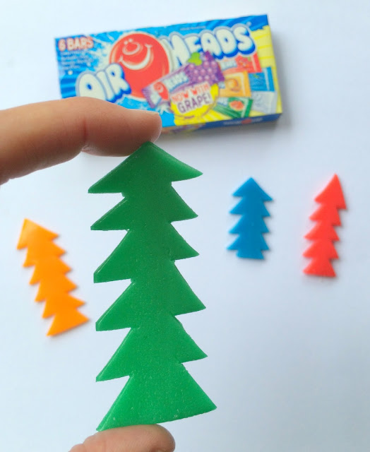 Whimsical Candy Christmas Trees | www.jacolynmurphy.com