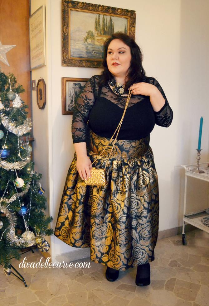 outfit lookbook capodanno plus size e curvy jibri H&M