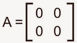matriks nol matematika