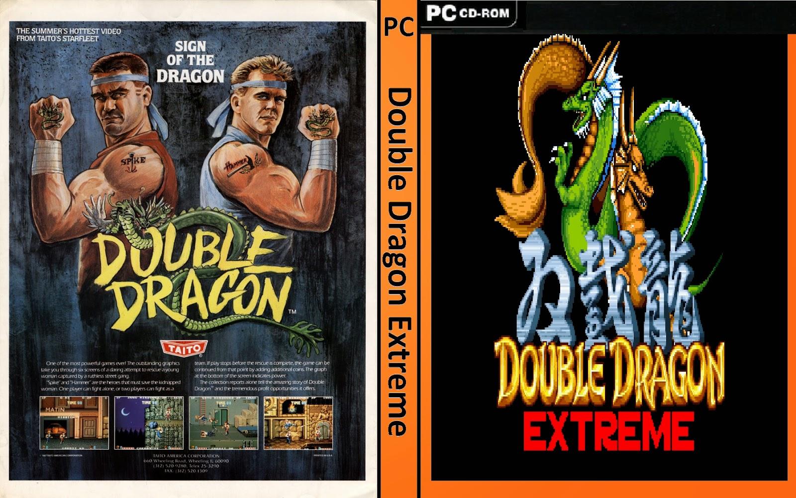 Jogo Double Dragon Extreme PC DVD Capa