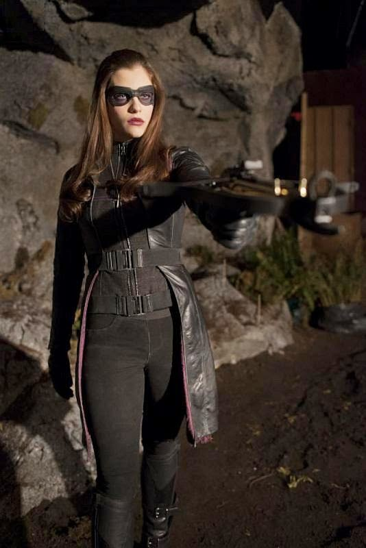 Jessica De Gouw as the Huntress from Arrow