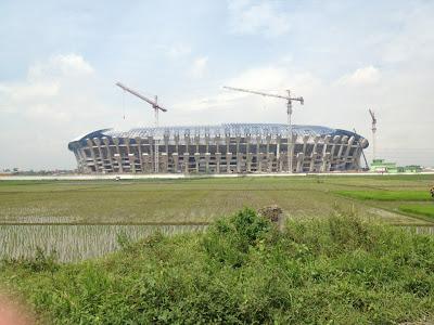 Foto Stadion Gedebage Januari 2013