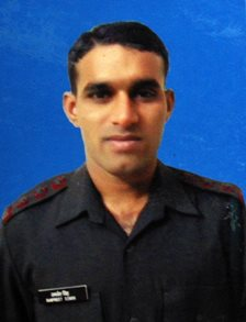 "Captain Rampreet Singh of 3 Jammu and Kashmir Rifles, awarded ""Shaurya Chakra"" for operations in Assam."