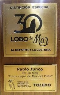 Distinción Especial Premios Lobo de Mar al Deporte y la Cultura