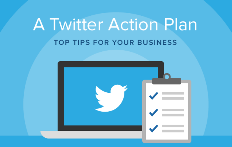 8 Steps To Make The Most Of Twitter For Your Business - #socialmedia #infographic