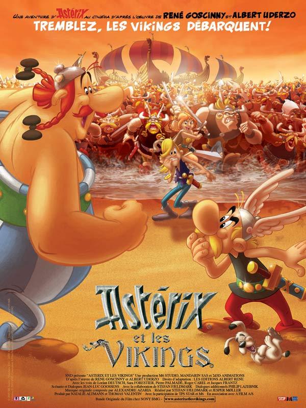 Astérix et les vikings affiche