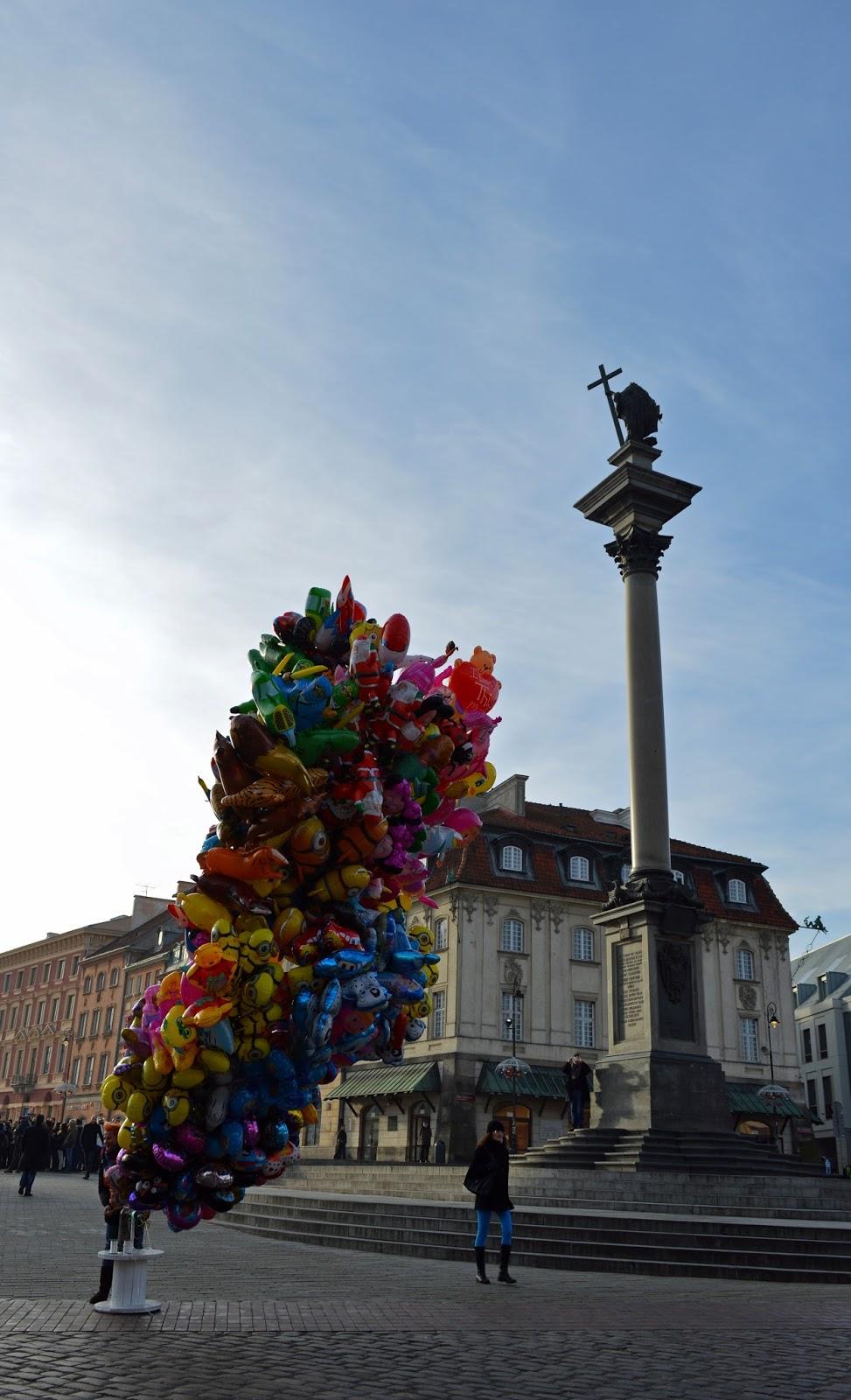 Warszawa Plac Zamkowy Kolumna Zygmunta