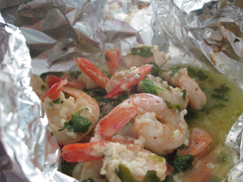 The On-Call Cook: Grilled Shrimp Packets