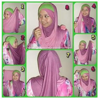 tutorial terkait cara memakai pashmina ala arab modern jilbab pashmina