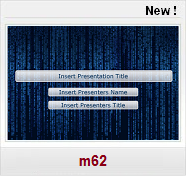 bleu theme abstract Free PPT Templates