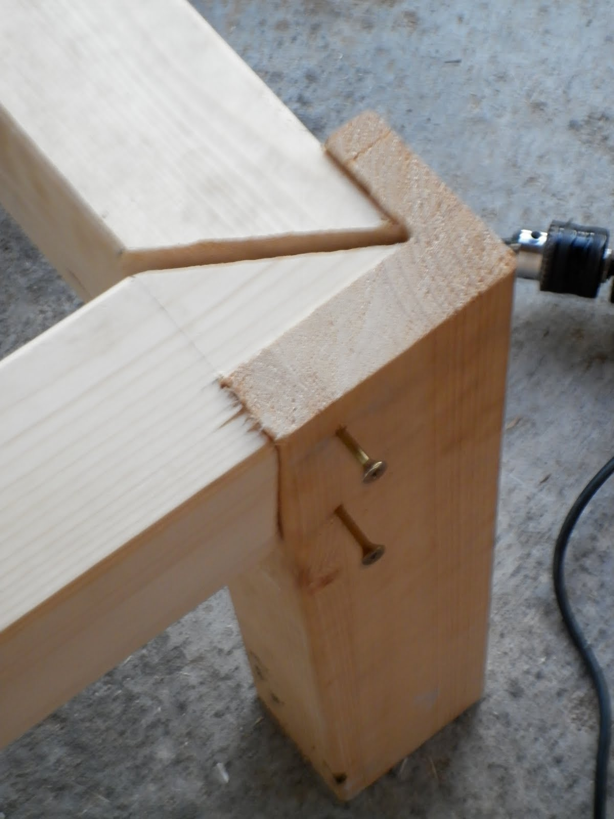 Susoleto cosas de casa como construir un banco de madera - Como hacer un porche de madera ...